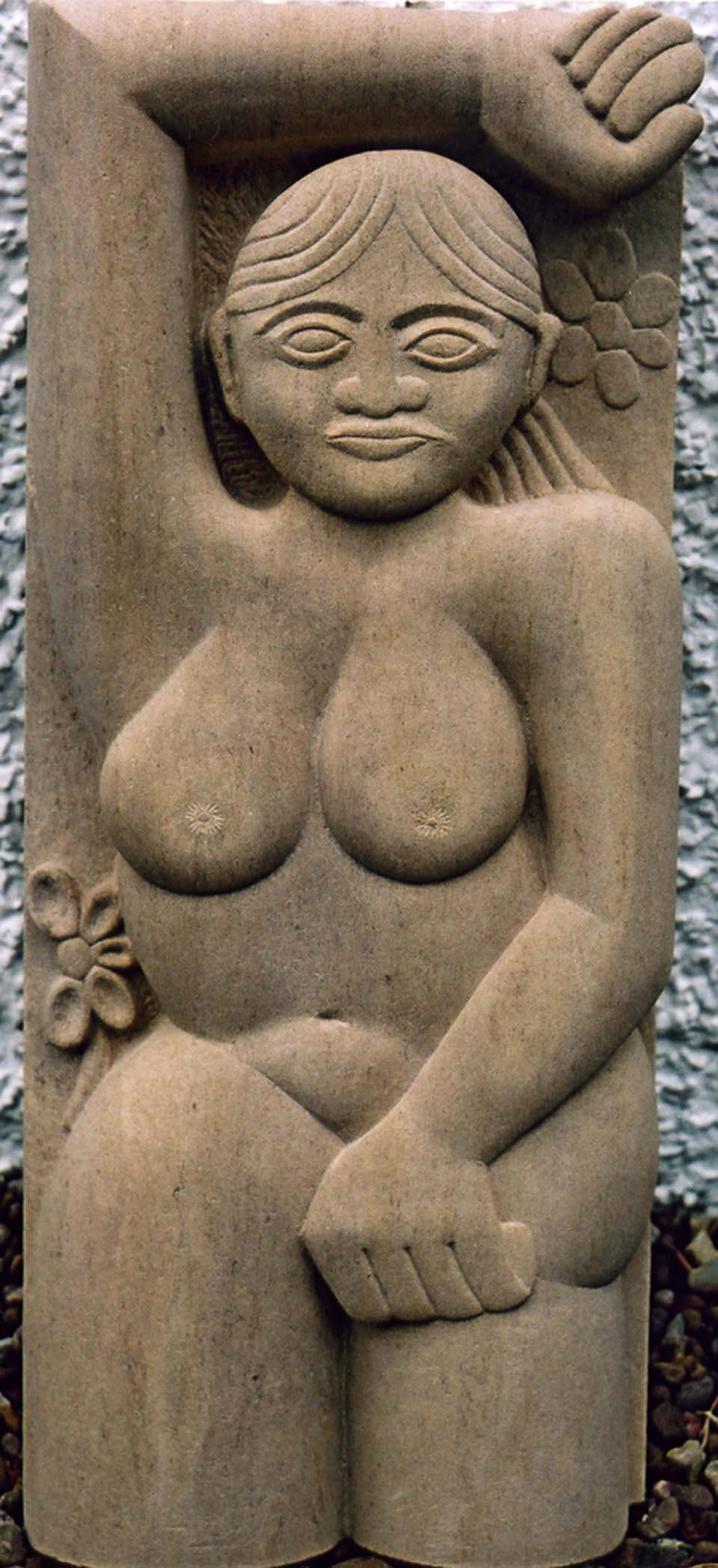 Limestone sculpture Gauguin